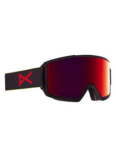 Anon M3 - Gafas para hombre con lente de repuesto, color negro y rojo