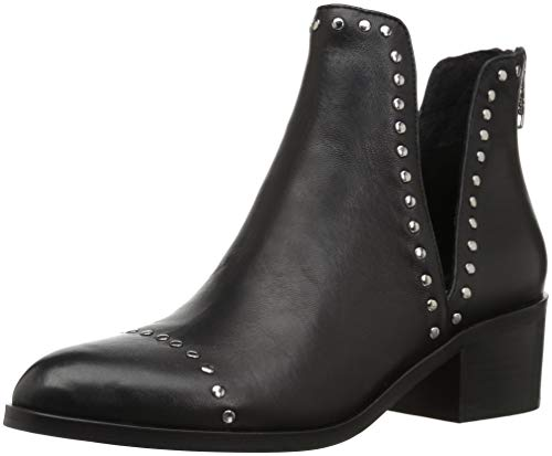 Steve Madden Conspire Bootie Black Leather 5.5