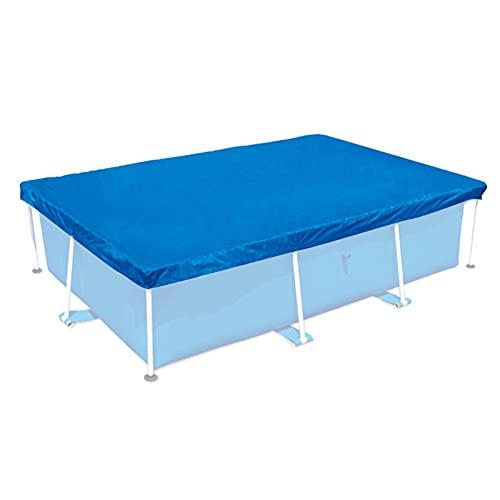Cubierta de piscina para el verano, piscina al aire libre, cubierta rectangular de piscina, para piscinas familiares, cubierta de suelo para piscina, 300 x 200 cm