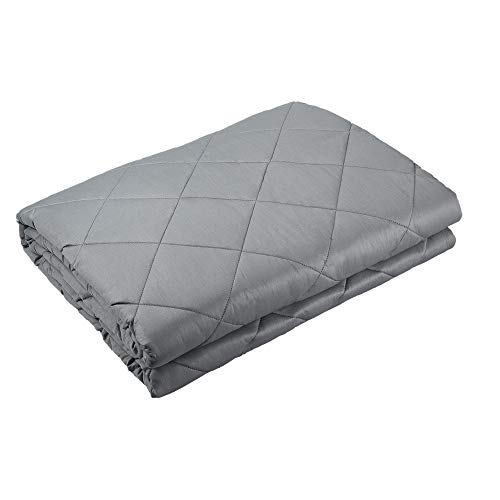 WarmHug Weighted Blanket (15lbs,48'x 72' for 140-150lbs Individual) for Adult, Kids, Men, Women|...