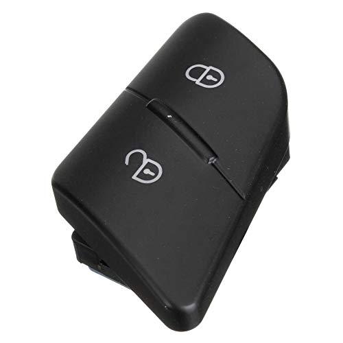 Longyitrade - Interruptor de bloqueo para puerta de coche para Volkswagen VW Passat B6 2006 – 2010