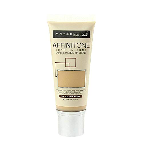 Maybelline Affinitone Unifying Foundation Cream (14 Creamy Beige) 30 ml