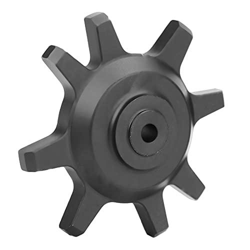Gaeirt Cambiador de neumáticos de Coche RC, Accesorios de Coche RC Material de aleación de Aluminio Peso Ligero para Herramienta de Bloqueo de neumáticos RC para Exteriores(Black)