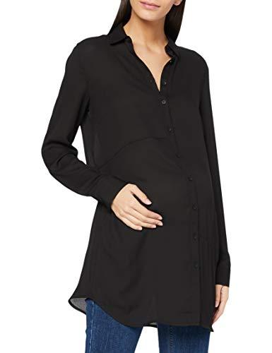 Noppies Damen Cardigan ls Imke Umstandsstrickjacke, Mehrfarbig (Black C270), 44 (Herstellergröße: XXL)