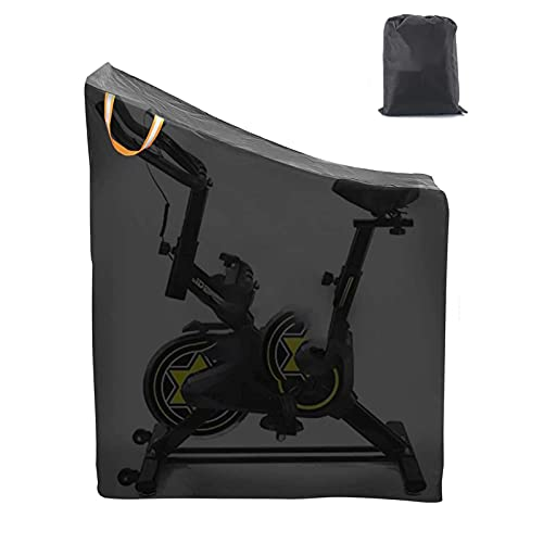 likeitwell Exercise Bike Cover 420D Oxford Cloth Upright Indoor Cycling Protective Cover with UV-Proof Coating remarkable