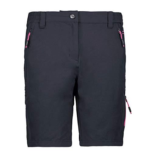 CMP Pantalon Stretch pour Femme S Antracite/Bouganville