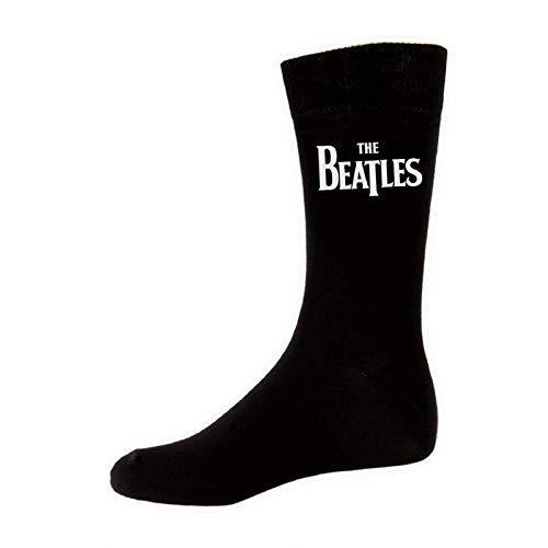 The Beatles - Classic Logo Socks [Horizontal]