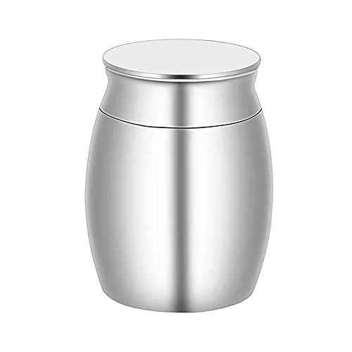 KNMY Mini urna de cremación para pájaros, gatos, perros, conejos, cenizas, urnas para animales pequeños, urnas conmemorativas, urnas conmemorativas, funerales