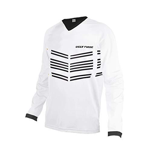 Uglyfrog Racewear Manga Larga MTB Downhill Jersey Winter Fleece Warm DH/Am/XC/FR/MTB/BMX/Moto Enduro Offroad Ropa Bicicleta de Montaña 148-19HSJFZR12