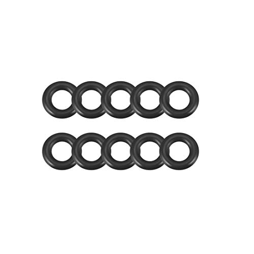 sourcing map 12stk. O-Ring Nitrilgummi Dichtringe Dichtungsringe Dichtung 4mm x 8mm x 2mm DE de