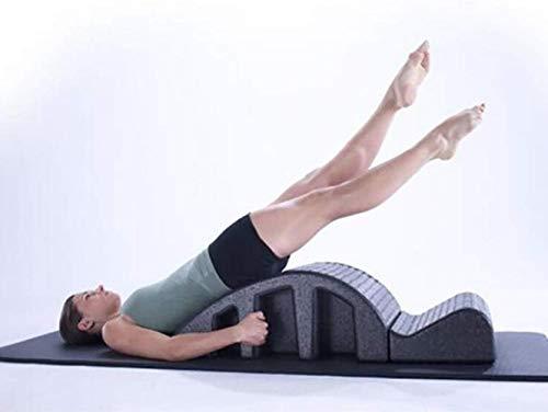 HongLianRiven Pilates Yoga Keil Multifunktionale Arc Wirbelsäule Korrektur Cervical Korrektur Yoga Ausrüstung Spine Orthese Relief Ausrichtung zurück Biegung Gesunder Massagetisch 1-15