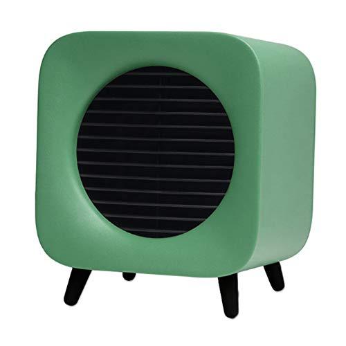 ZTBGY Draagbare radiator, compact, eenvoudige hantering, snel verwarmen, oververhittingsbeveiliging, instelbare temperatuur, laag decibel naar huis, reizen, wintercadeau