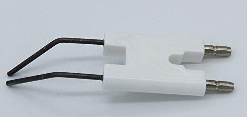 Doppelzündelektrode, Zündelektrode passend zu Weishaupt WL 5, WL 10-A, WL 10-B, WL 15-A, WL 15-B, WL 20-A, WL 20/1-2