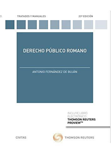 Derecho Público Romano (Tratados y Manuales de Derecho)