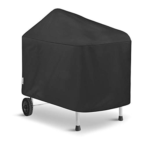 Unicook Grill Cover Compatible for Weber Performer Deluxe Grills 22-Inch, Performer Charcoal Grill Cover, Heavy Duty Waterproof Fade Resistant Barbecue Cover, Compared to Weber 7152