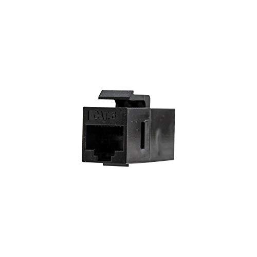 NANOCABLE 10.21.0501 - Empalme para cable de red Ethernet RJ45 para panel de parcheo o roseta, hembra-hembra, Cat.6, UTP