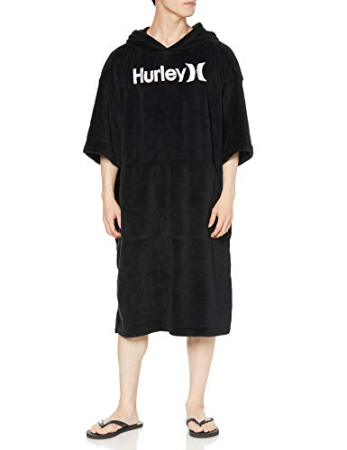 Hurley One & Only Poncho Changing Robe One Size Black