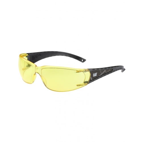 Caterpillar CAT BLAZE Unisex Sicherheitsbrille (Einheitsgröße) (Gelb)