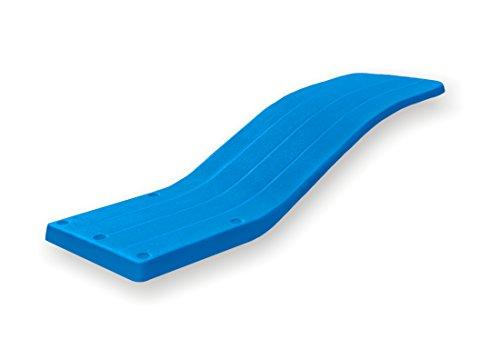 Trampolín Bali para piscina. De fibra de vidrio. Muy RESISTENTE. Color azul. Fabricado en España