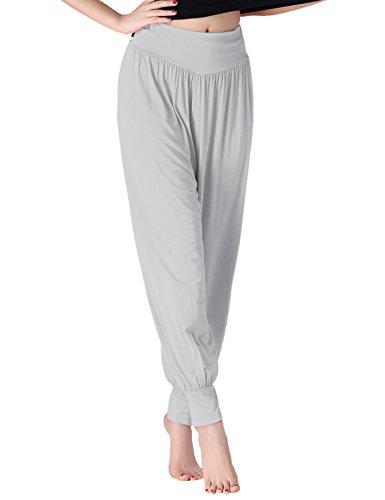 チンファン(ChinFun) レディース ヨガパンツ リラックスパンツ サルエル風 ベリーダンス バレエ ダンスパンツ 体型カバー