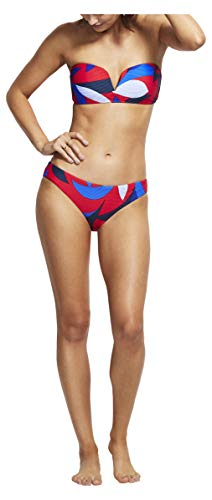 Seafolly Women's Hipster Bottom Swimsuit, Aloha Chilli, 8 US
