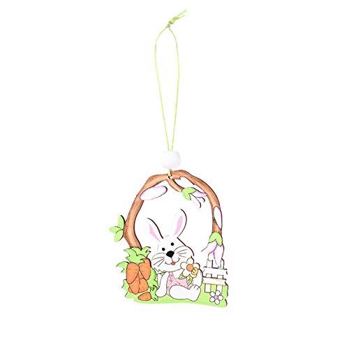 Colgante de Pascua para colgar adornos de Pascua, decoración creativa para colgar ventanas, decoración para vacaciones, hogar, fiesta, decoración