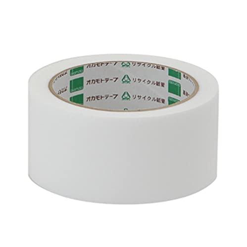 オカモト アクリル気密防水テープ 白 片面 50mm×20m AS-03