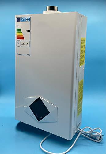 Calentador Estanco Gas Butano 12 Litros (Uso Domestico) | Calificación Energética A | Calentador Tiro Forzado | Bajas Emisiones de NOx | Encendido Automático