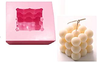 9 Ball Silicone meadiam candel Mould Output Ball Size 6.3x6.3 cm