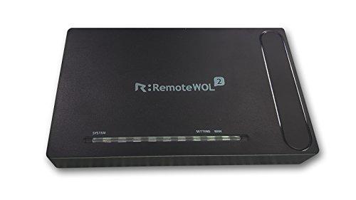 RSUPPORT (アールサポート)  遠隔地パソコンを電源ONできる 遠隔PC電源管理装置 WOL(Wake-On-LAN)   RemoteWOL2 本体
