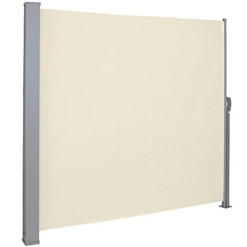 SAILUN - Toldo Lateral para protección Solar, protección contra el Viento, 160/180 x 300 cm, Color Antracita/Gris/Beige, de poliéster