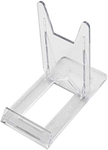 BANMYZZ Zweistimmige Adjustable Plexiglas Kunststoff Display-Ständer Staffelei (Set of 6) Medaillen Erinnerungsstücke Blumen etc Display Rahmen (Size : A)