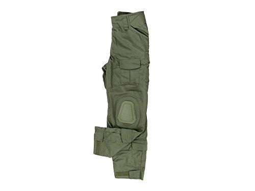 Invader Gear Predator Combat Hose, mit 10 Taschen & Knieschonern - Olive M