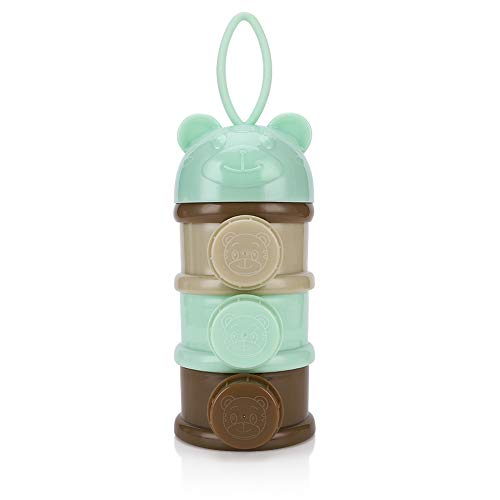 Accmor Baby Milk Powder Formula Dispenser, Portable Formula Container, Stackable Formula Snack Storage Container, BPA Free