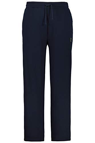 JP 1880 Homme Grandes tailles Pantalon de jogging élastiqué mélangé coton bleu marine foncé XXL 702635 70-XXL