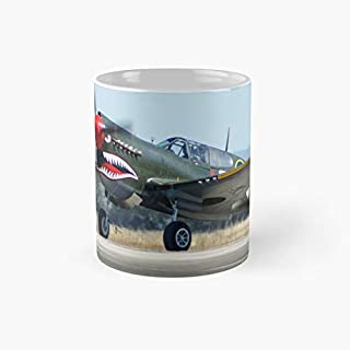 VH-ZOC Curtiss P-40N Warhawk - Gifts For Girls - 11 Oz Ceramic Perfect Mug