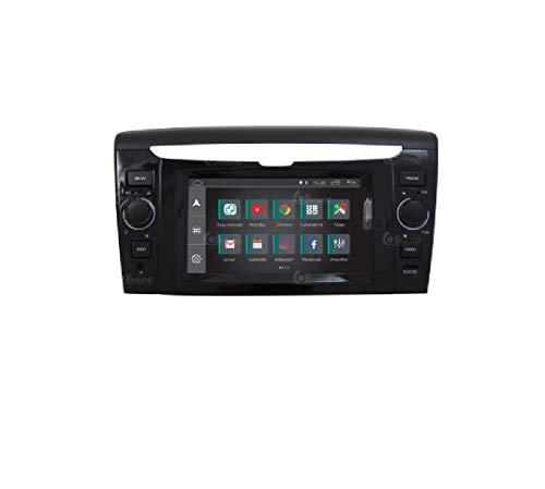 Autoradio Custom Fit per Lancia Ypsilon Android GPS Bluetooth WiFi Dab USB Full HD Touchscreen Display 6,2'