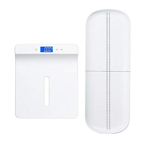 Fantastic Deal! Weight Scale White Electronic Baby Scale Digital Accurate Baby Weighing Scale Backli...