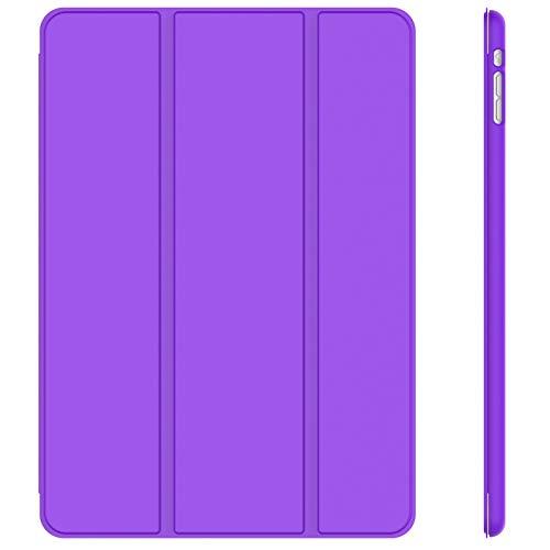JETech Hülle Kompatibel iPad Mini 1 2 3, Schutzhülle mit Ständer Funktion & Auto Einschlafen/Aufwachen (Lila)