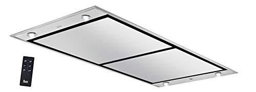 Teka DHT 1285 INOX 807 m³/h De techo Negro, Acero inoxidable A - Campana (807 m³/h, Canalizado, A, A, B, 47 dB)
