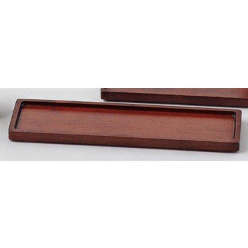 木製スパイストレイS ブラウン [ 約24 x 7 x t1.2cm ] 【 木製卓上小物 】 【 料亭 旅館 和食器 飲食店 業務用 】