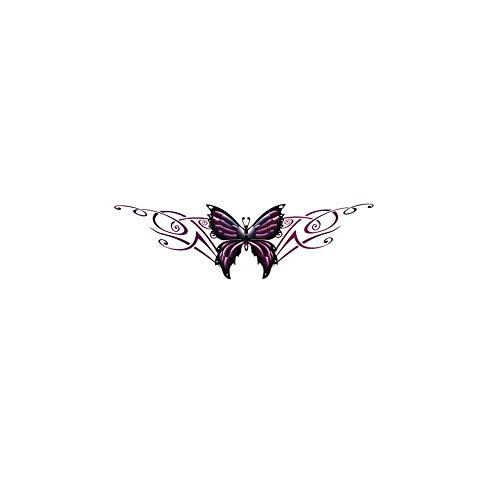 Ventana de la mariposa etiqueta del vinilo de la etiqueta engomada etiqueta...