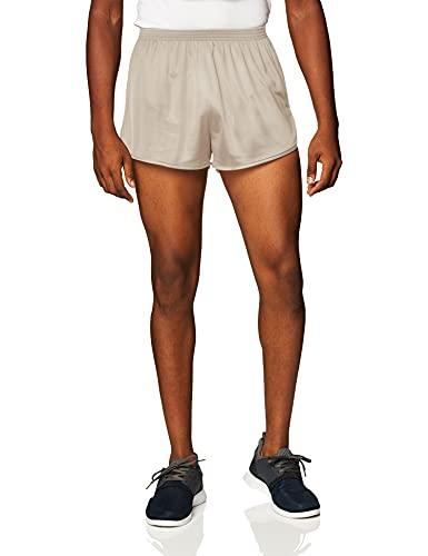 Soffe Men's Ranger Panty Running Short,Sand,Medium