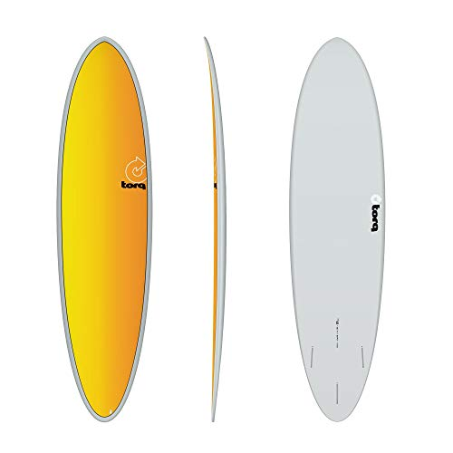 TORQ Tabla de surf Epoxy TET 7.2 Funboard Full Fade