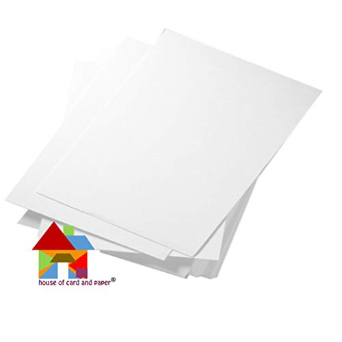 Orange House of Card /& Paper A4/220 gsm Lot de 100/feuilles Carton color/é