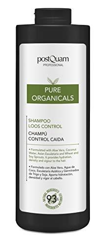 PostQuam Organicals - Champú natural anticaída del cabello | Champú Sin Sulfatos y Parabenos - Hidrata y Fortalece el Cabello, 93% Ingredientes Naturales, 1000 ml