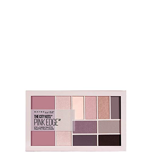 Maybelline New York The City Kits Eye+Cheek Palette 02 Pink Edge Paleta do makijażu 12g