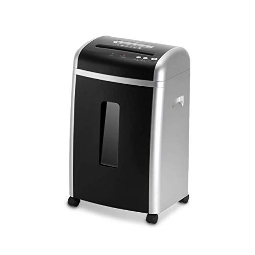 Best Review Of HIZLJJ 8-Sheet High-Security Micro-Cut Paper Shredder, 10 Minutes Running Time, Low O...