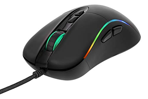 puissant DELTACO GAMING RGB LED souris de jeu optique filaire (8 modes de rotation et 2 modes statiques) |  PS4PC…