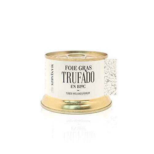 Bloc Foie Gras de Pato Trufado con Trufa Negra Tuber Melanosporum de Teruel España - Trufa de Invierno - 130 g